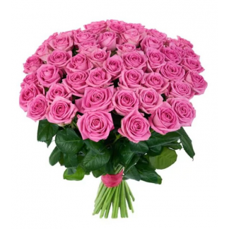 Купить букет из 55 розы дешево подарок на юбилей свадьбы 40 лет родителям