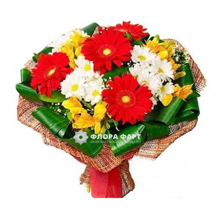 букет цветов фото